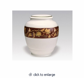 Toscana Vineyard Classica Porcelain Keepsake Cremation Urn