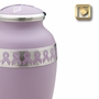 Awareness Pink Ribbon Cremation Urn