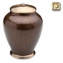 Tall Simplicity Bronze Finish Cremation Urn