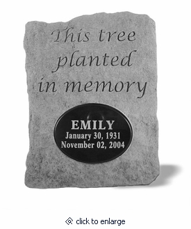 Personalized stones this tree planted memorial garden stone personalized stone this tree planted memorial garden stone workwithnaturefo