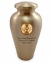 Army Emblem Bronze Arlington Cremation Urn - Engravable