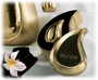 Brushed Brass Tear Drop Ultra Keepsake Cremation Urn Set