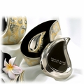 Brass Tear Drop Keepsake Cremation Urns