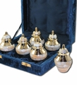 Sets of Brass and Other Keepsake Urns
