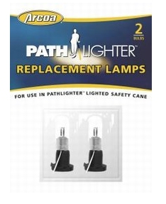 Safety Cane Accessory Arcoa Pathlighter Replacement Lamps