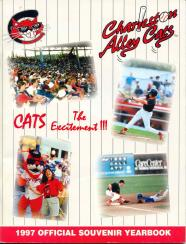 1997 Charleston Alley Cats Yearbook