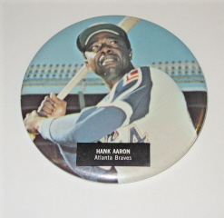 1970's Era HANK AARON Button