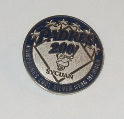 2001 San Diego Padres Compadres Lapel Pin