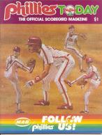 1985 Philadelphia Phillies Game Program