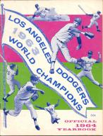 1964 Los Angeles Dodgers Yearbook