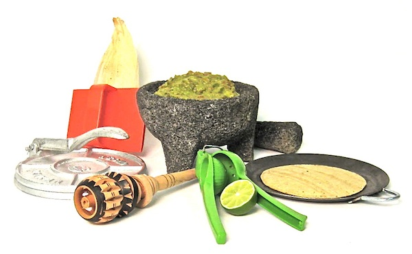 Mexican Cooking Utensils Deluxe Gift Set At Mexgrocer Com