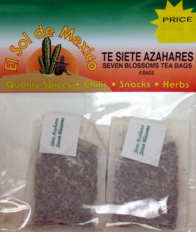 Seven Blossoms Flowers Tea Bags By El Sol De Mexico