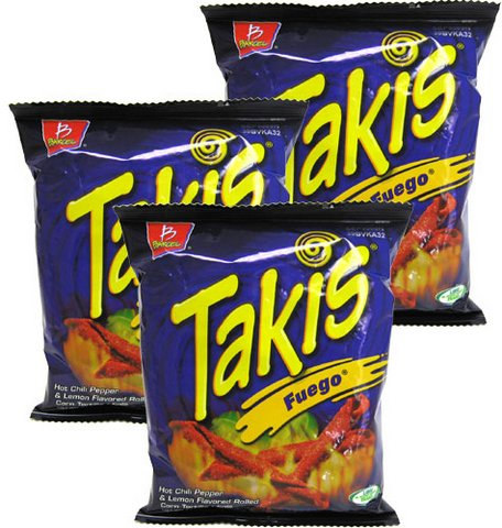 Takis Fuego Corn Tortilla Minis By Barcel 4 Oz Pack Of 6