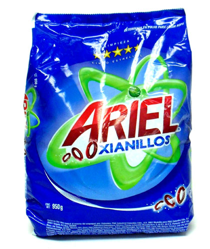 ariel laundry detergent Ariel is a marketing line of laundry detergents made by procter & gamble it is the flagship brand in procter & gamble's european, algerian, mexican, japanese.