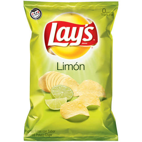 lay s limon flavored potato chips pack of 3