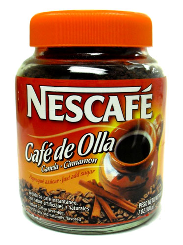 Cafe De Olla Calories