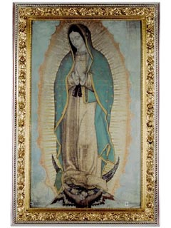 Our Lady Of Guadalupe Poster Original Size Virgin Of Guadalupe
