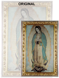 Our Lady Of Guadalupe Poster Virgin Of Guadalupe Large 46 X 275
