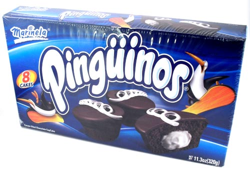 Pinguinos Marinela Cream Filled Chocolate Cup Cakes 8