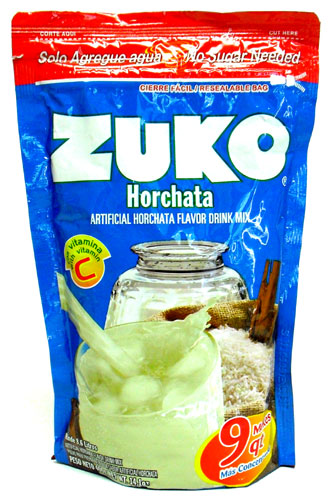 Zuko Horchata Flavor Drink Mix 8 6 Liters 14 1 Oz
