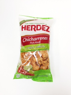 chicharrones pork rinds chile limon by herdez
