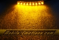 AMBER Flexible Motorcycle / Car Lights with 9 LEDS