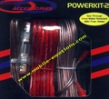 8 Gauge Amp Kit Professional Wire Set (w/ Loom & Fuse)