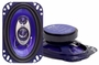 "Pyle 4""x 6"" Three-Way Tri-axial Speaker System PL463BL"