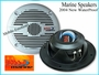 "5.25"" Inch Marine Speakers (Waterproof)"