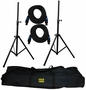 Pyle Heavy Duty Cable & Speaker Stand Kit PDMK101