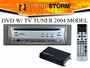 In-Dash DVD Player with TV Tuner and Wireless Remote Control sdvd150t