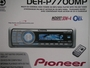 PIONEER DEH-P7700MP In-Dash CD/MP3/WMA/WAV/iTunes AAC Car Stereo Receiver