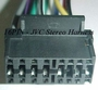 JVC Wire Harness 16Pin Plugs into Radio Large