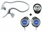 Coby CV-123 THREE-IN-ONE SUPER VALUE HEADPHONE & EARPHONES PACKAGE