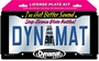 Dynamat License Plate Kit 19100 LIC