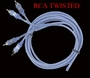 RCA Stereo Cable 10 ft <br>Lightning Audio
