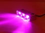 PINK Led Motorcycle Lazer Lights - Chrome