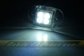 4 LED WHITE Motorcycle & Car Lights - Neon Glow from LEDS (Clear Case Design)