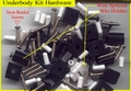 Screws/Wire Holders for Underbody Kit (Extra Hardware)