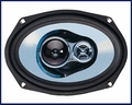 Jensen Triaxial Speakers Swivel Tweeter/Midrange 180 Watts Peak