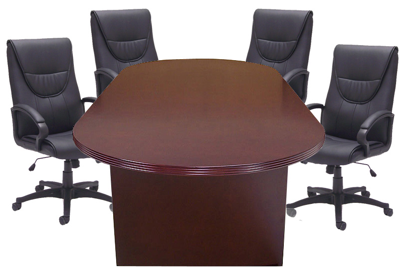 8u0027, 10u0027 Genuine Mahogany Veneer Conference Tables From $899!