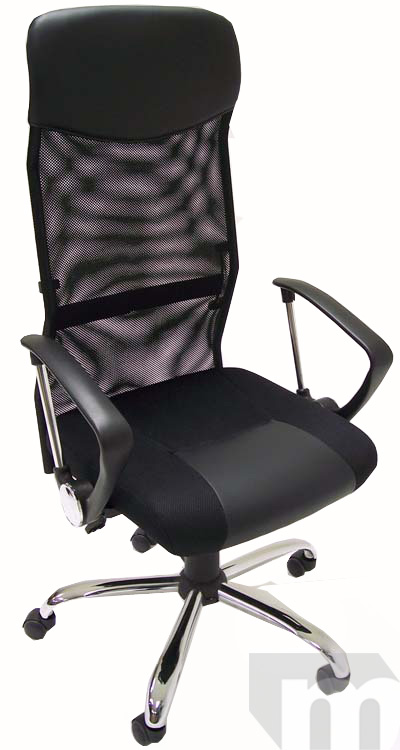 ost office high chair star back with executive headrest view matrix