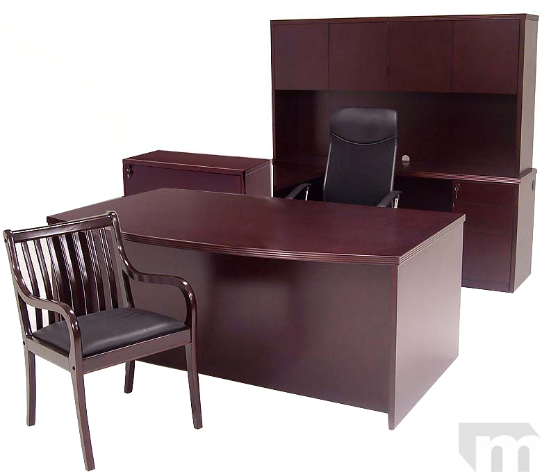 Genuine Mahogany Office Furniture! IN STOCK! FREE SHIPPING!