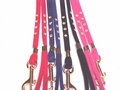 Velvet Dog Leash with Rhinestones 1/4 x 4ft