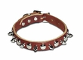 Spiked And Stud Leather Dog Collars 3/4  Wide
