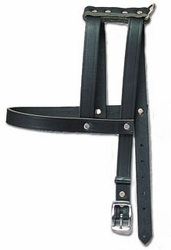H-Style Buckle Leather Harness 3/4 Inch Wide