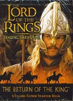 The Lord of the Rings RETURN OF THE KING EOMER STARTER DECK containing 63 LOTR Cards