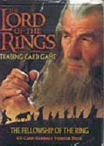 The Lord of the Rings FELLOWSHIP OF THE RINGS GANDALF STARTER DECK containing 63 LOTR Cards