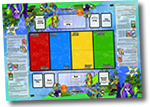 Neopet TCG Paper Playmat and Advanced Rulebook