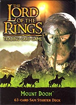 The Lord of the Rings MOUNT DOOM SAM STARTER DECK containing 63 LOTR Cards